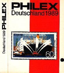 o. Angabe; Philex Deutschland 1989 Deutschland Briefmarken-Katalog 1999