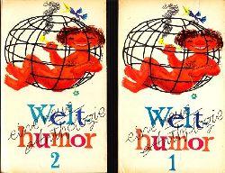 Albrecht, Günter; Welthumor - Eine neue Anthologie Teil 1, 2 1. Auflage
