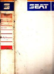 Autorengruppe; Seat Malaga 1989 - Reparatur-Handbuch Band I
