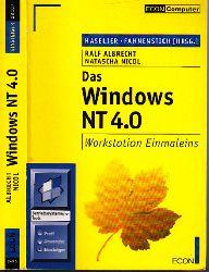 Albrecht, Ralf und Natascha Nico!; Das Windows NT 4,0 - Workstation 4,0 Einmaleins nur das Buch 2. Auflage