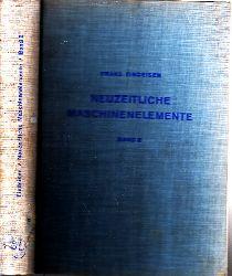 Findeisen, Franz; Neuzeitliche Maschinenelemente 2. Band