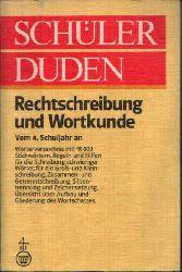 Berger, Dieter und Werner Scholze-Stubenrecht:  Schüler Duden Rechtschreibung und Wortkunde