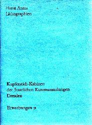 Antes, Horst; Horst Antes Lithographien - Erwerbungen 51 - Kupferstich-Kabinett der Staatlichen Kunstsammlungen Dresden Ausstellung im Kupferstich-Kabinett vom 10. Juli bis 31. Oktober 1985
