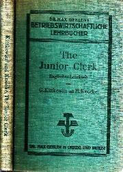 Kittkewitz, Georg und Hermann Knocke; The Junior Clerk - Englisches Lehrbuch für kaufmännische Schulen und verwandte Lehranstalten 9., durchgesehene Auflage