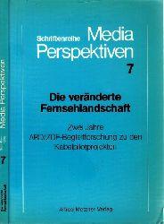 Berg, Klaus, Marie-Luise Kiefer Bernward Frank u. a.; Die veränderte Fernsehlandschaft - Zwei Jahre ARD/ZDF-Begleitforschung zu den Kabelpilotprojekten - Schriftenreihe MEDIA PERSPEKTIVEN 7