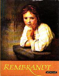 Vogel, Ernst; Rembrandt - Welt der Kunst 10 farbige Gemäldereproduktionen und 7 einfarbige Tafeln 3. Auflage