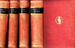 Goethe, Johann Wolfgang und Hugo Bieber;  Gesammelte Werke - Band 1-2, 5-6, 7-8, 9-10 4 Bücher