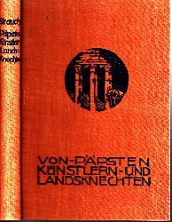 Strauch, Hugo;  Von Päpsten, Künstlern und Landsknechten - Renaissance-Novellen