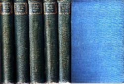 Schmidt, Erich;  Goethes Werke in sechs Bänden - Bände 2, 3, 4, 5, 6 5 Bücher