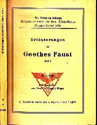 Woyte, Oswald; Erläuterungen zu Goethes Faust Teil 1 Dr. Wilhelm Königs Erläuterungen zu den Klassikern Doppelband 21/22 15. Auflage