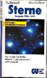 Ekrutt, Joachim;  Sterne - Ausgabe 1990-1992 - Sterne und Sternbilder erkennen und bestimmen, leicht gemacht