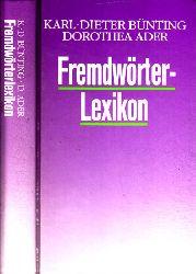 Bünting, Karl-Dieter und Dorothea Ader; Fremdwörterlexikon