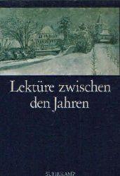 Borchers, Elisabeth:  Lektüre zwischen den Jahren