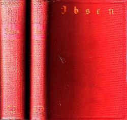 Silbermann, Adalbert;  Henrik Ibsens Meisterdramen erstes bis fünftes Buch und sechstes bis neuntes Buch 2 Bücher
