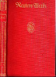 Grube, Hans B.; Reuters Werke in zwölf Teilen - dritter bis fünfter Teil