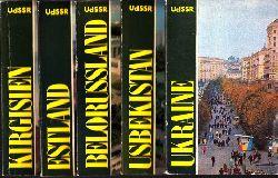 Autorengruppe; Ukraine - Usbekistan - Belorussland - Estland - Kirgisien 5 Bücher