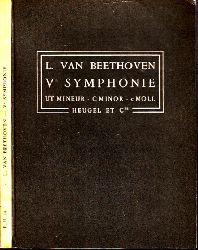 van Beethoven, Ludwig;  Ve Symphonie op. 67 - Ut Mineur, C Minor, c Moll
