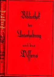 o. Angabe; Bibliothek der Unterhaltung und des Wissens - 6. Band Jahrgang 1926
