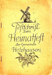 Autorengruppe; Festschrift zum Heimatfest der Gemeinde Holzhausen