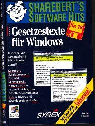 Sillescu, Daniel; ShareBert präsentiert: Gesetzestexte für Windows