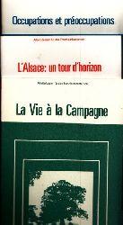 Hickman, Paul und Heribert Walter; La Vie á la Campagne - L´Alsace: un tour d´horizon - Occupations et préoccupations - Arbeitsdossier für den Französischunterricht 3 Bücher
