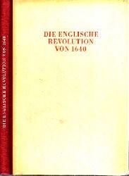 Autorengruppe;  Die englische Revolution - vier Aufsätze