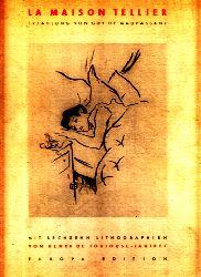 de Maupassant, Gay;  La Maison Tellier mit 16 Lithographien von Henri de Toulouse-Lautrec