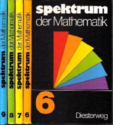 Tischel, Gerhard, Helmut Achilles Dietrich Hillmann u. a.;  Spektrum der Mathematik 6., 7., 8., 9. Schuljahr 4 Bücher