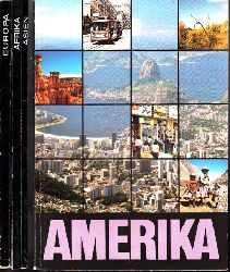 Autorengruppe; Geographie Afrika, Amerika, Asien, Europa 4 Bücher 1. Auflage