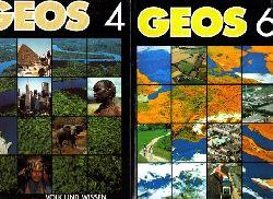 Barth, Ludwlg und Dieter Richter; GEOS 4 und 6 - Lehrbuch Geographie 2 Bücher