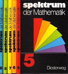 Tischel, Gerhard, Helmut Achilles Dietrich Hillmann u. a.;  Spektrum der Mathematik 5, 6., 7., 8., 9. Schuljahr 5 Bücher