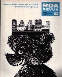 Liebscher, Bernhard:  RDA Revue Numero 4 Magazine de la République Démocratique Allemande