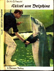 Petzold, Hans-Giünter;  Rätsel um Delphine Berliner Tierpark-Buch Nr. 25 - Mit 44 Abbildungen