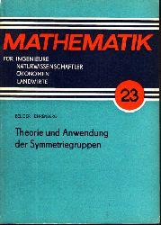Belger, Martin und Lothar Ehrenberg;  Mathematik für Ingenieure, Naturwissenschaftler, Ökonomen, Landwirte Band 23: Theorie und Anwendung der Symmetriegruppen