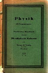 Autorengruppe;  Physik, 40 Dispositionen für die wichtigsten Lehrstunden der Physik - Praktisches Handbuch für das  Physikalische Kabinet