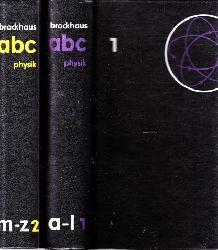 Lenk, Richard und Walter Gellert;  Brockhaus ABC Physik Band 1 und Band 2 2 Bücher