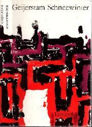 af Geijerstam, Gustaf; Schneewinter 2. Auflage