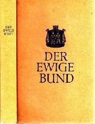 Hamacher, Lambert; Der ewige Bund - Ehe-Geschichten und -Gedichte Einbandentwurf Franz Fiederling
