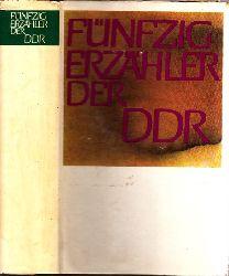 Christ, Richard und Manfred Wolter; Fünfzig Erzähler der DDR 1. Auflage