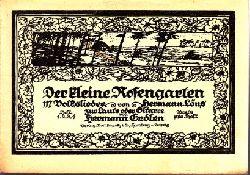 Erdlen, Hermann und Hermann Löns; Der kleine Rosengarten - Volkslieder zur Laute oder Gitarre - Heft 4