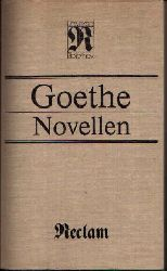 Goethe, Johann Wolfgang:  Novellen
