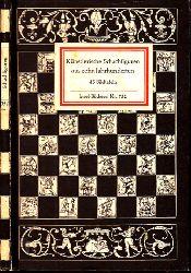 Behrends, Rainer;  Schachfiguren aus zehn Jahrhunderten - Insel-Bücherei Nr. 752 45 Bildtafeln