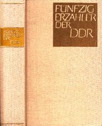 Christ, Richard und Manfred Wolter; Fünfzig Erzähler der DDR 2. Auflage