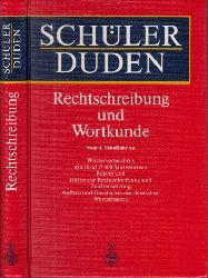 Scholze-Stubenrecht, Werner und Heribert Hartmann; Schüler Duden - Rechtschreibung und Wortkunde 4., überarbeitete und erweiterte Auflage