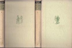 Keller, Gottfried; Die Leute von Seldwyla - erster und zweiter Band Zeichnungen von Karl Wernicke