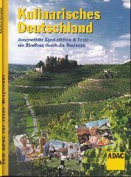 ADAC e.V. (Herausgeber); ADAC Kulinarisches Deutschland
