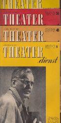 Autorengruppe;  Theater dienst - Heft 9/Jg.11/56 ; Hefte 48, 50, 51, 52/Jg. 10/55 5 Heftchen