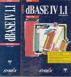 Simpson, Alan;  Das DBASE IV 1.1 Buch