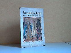 Weber, Ernst; Kriemhild Rache , Des Niebelungenliedes zweiter Teil - Deutsche Jugendbücherei Nr. 53 Nach der St. Gallen Handschrift wiedergegeben - Das farbige Umschlagbild zu denAusgaben A und B zeichnete Herbert Arnold.