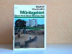 Voigtländer, Ulrich; TOURIST Wanderatlas Müritzgebiet - Waren, Klink, Röbel, Malchow, Plau